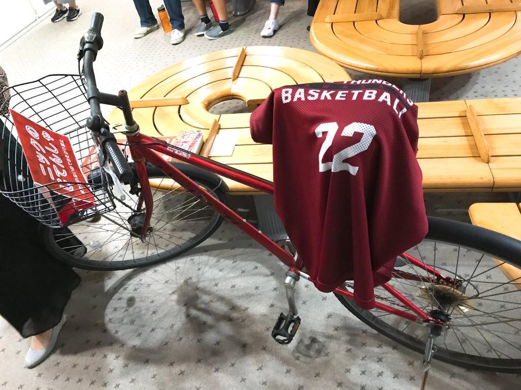 ニックの自転車・川崎ブレイブサンダース