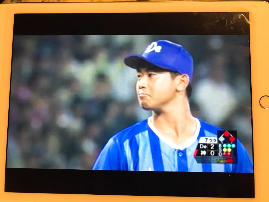 今永くん・阪神戦ピンチでのマウンド