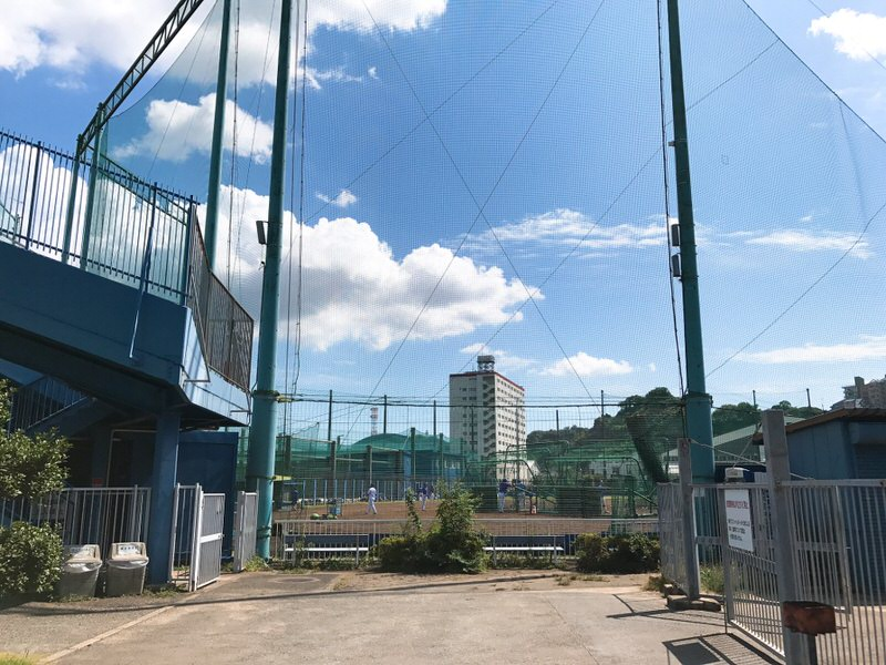 横須賀長浦・横浜DeNA2軍練習場