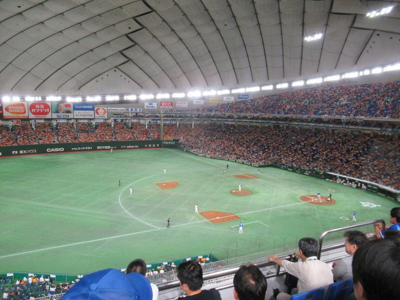 東京ドーム指定席FCからの景色・眺め