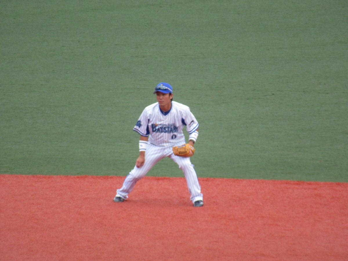 ショートの守備山崎憲晴:横須賀スタジアム最終戦2017