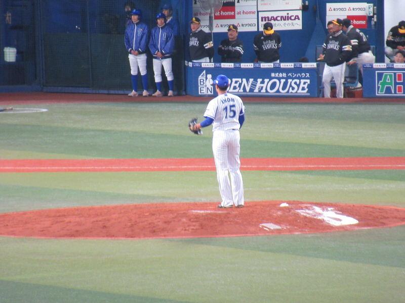 井納が7回マウンドへ!2017年横浜スタジアム日本シリーズ第3戦