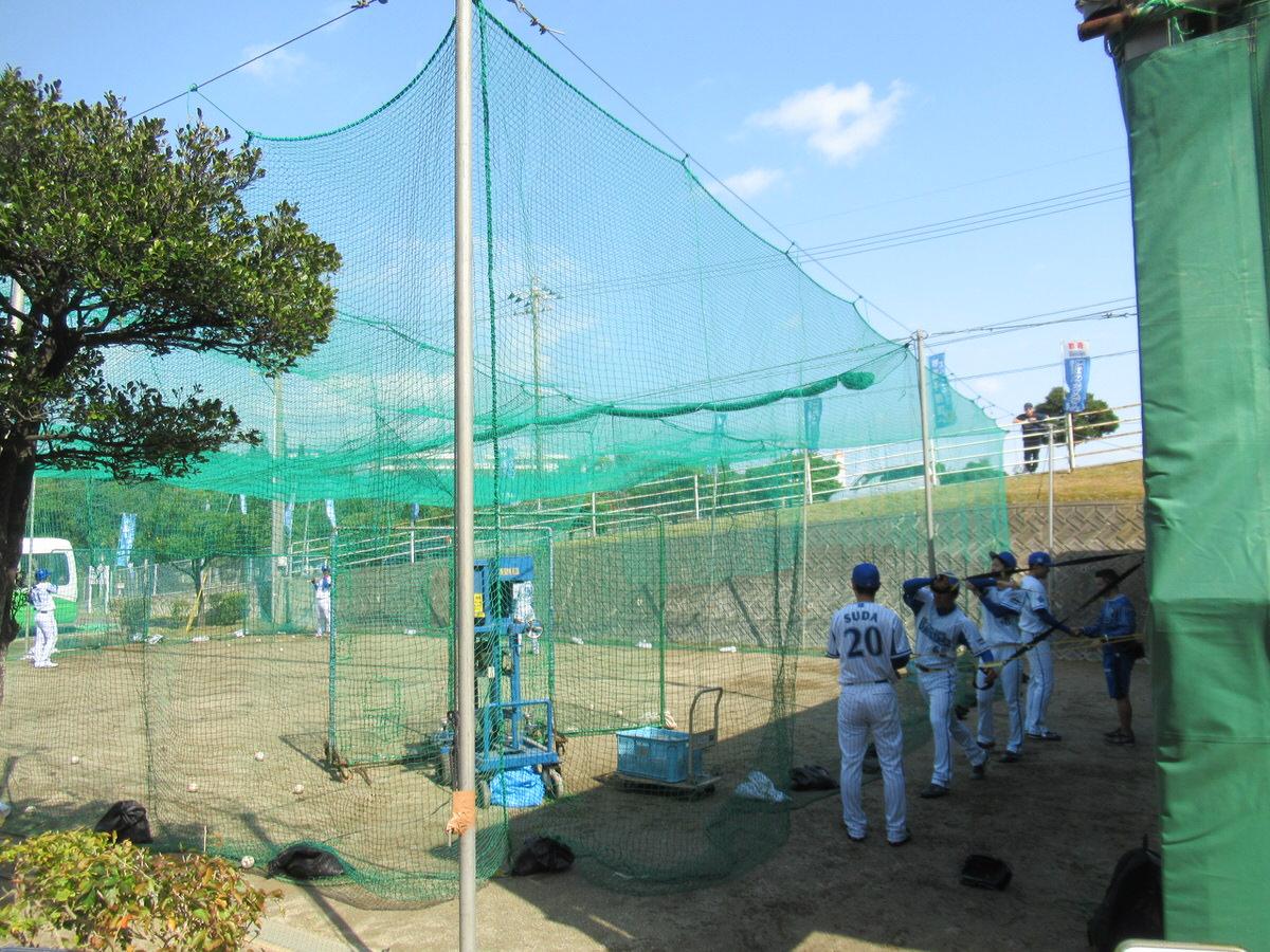 ブルペンの隣:横浜DeNAベイスターズ2軍:嘉手納キャンプ