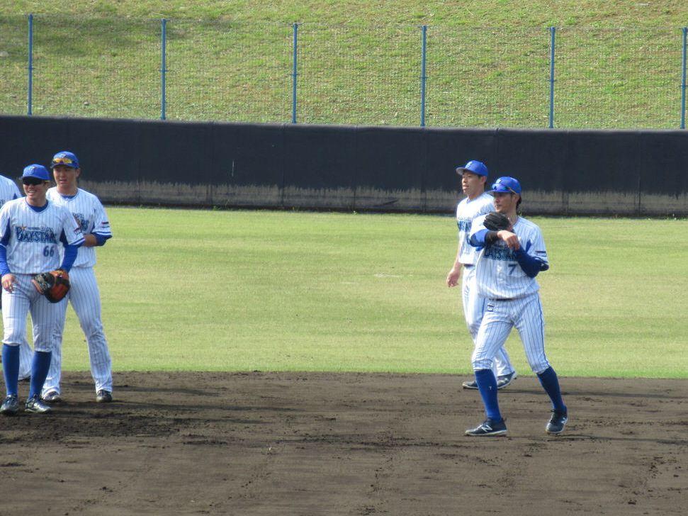 セカンド石川雄洋・横浜DeNAベイスターズ2軍:嘉手納キャンプ