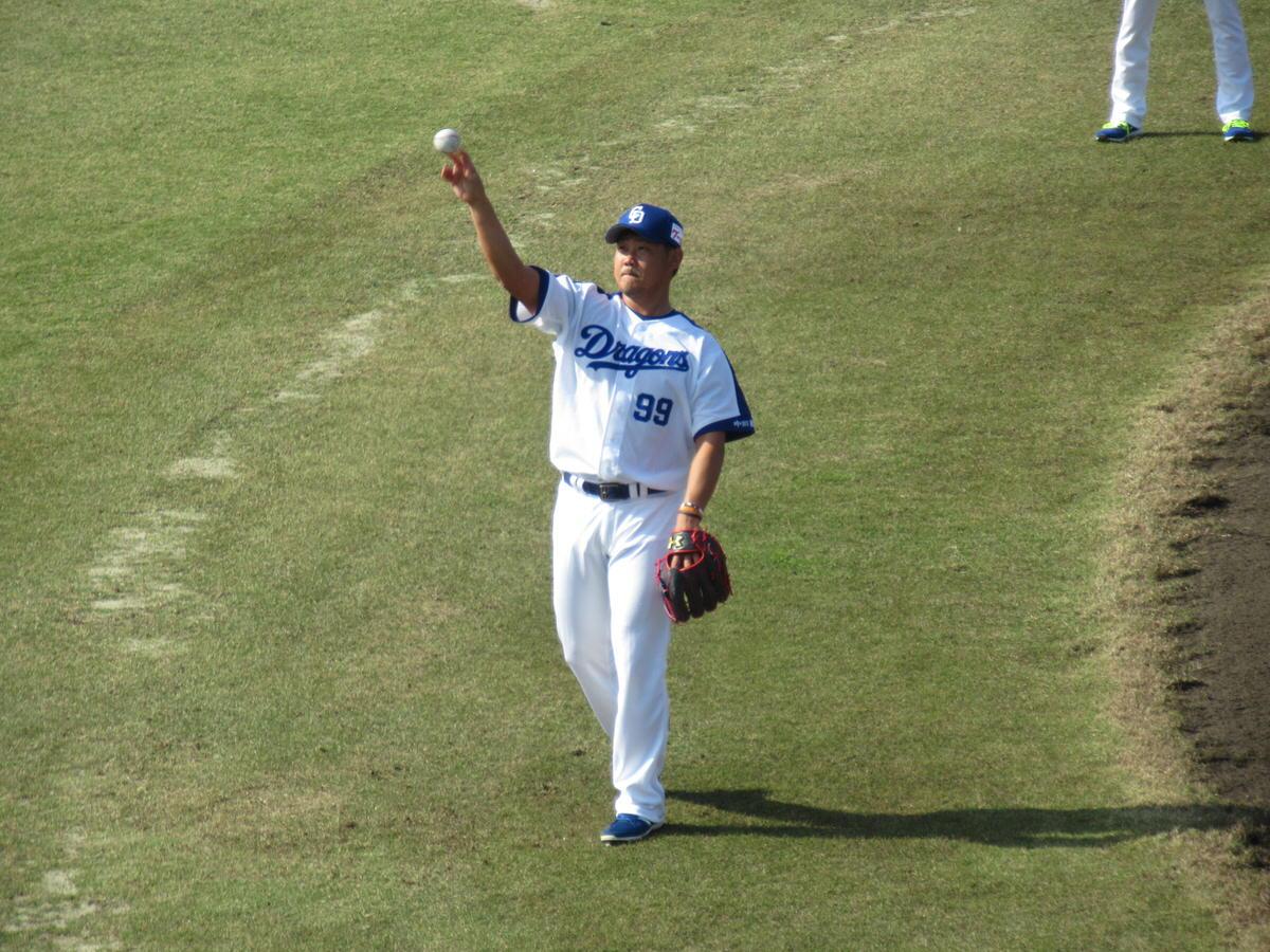 松坂大輔・スローイング:中日ドラゴンズ北谷キャンプ!