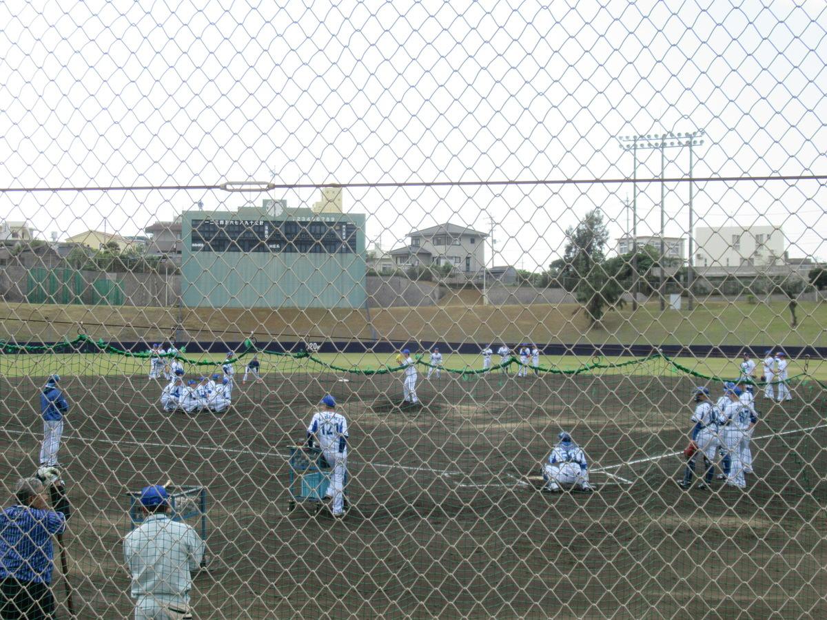 投内連携・横浜DeNAベイスターズ2軍:嘉手納キャンプ