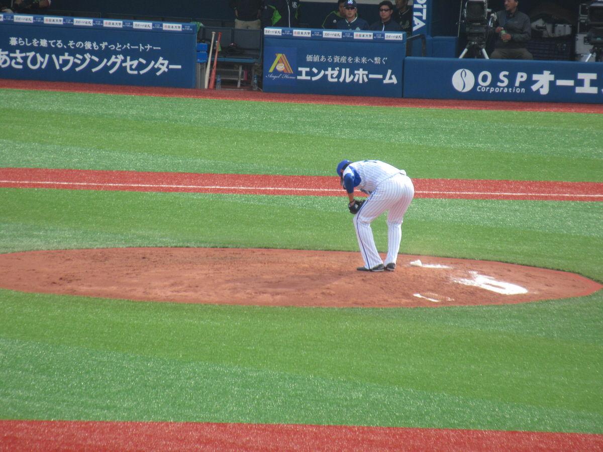 井納翔一:7回の男:横浜DeNAベイスターズ