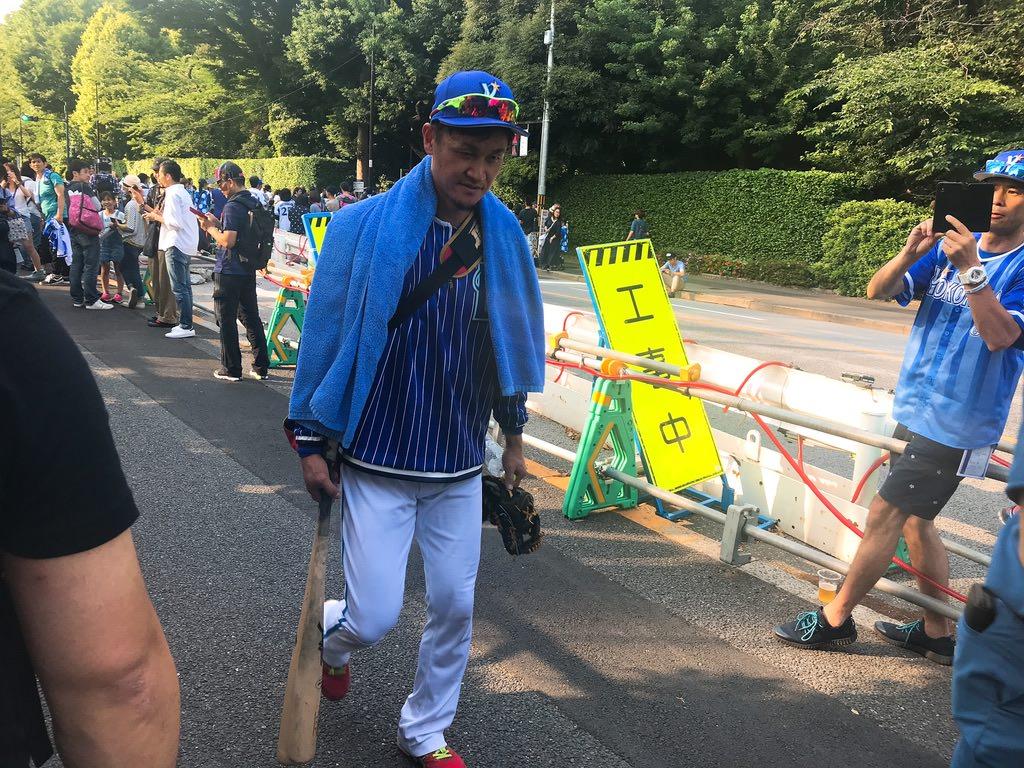 大和選手・神宮球場:横浜DeNAベイスターズ