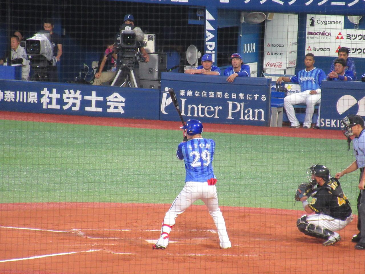 オリックスから移籍してきた伊藤光選手
