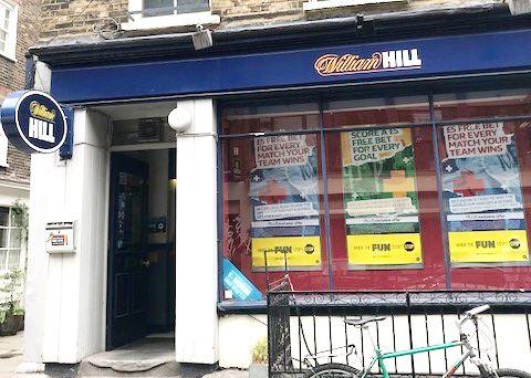 ウィリアムヒル3:ロンドン市内の実店舗