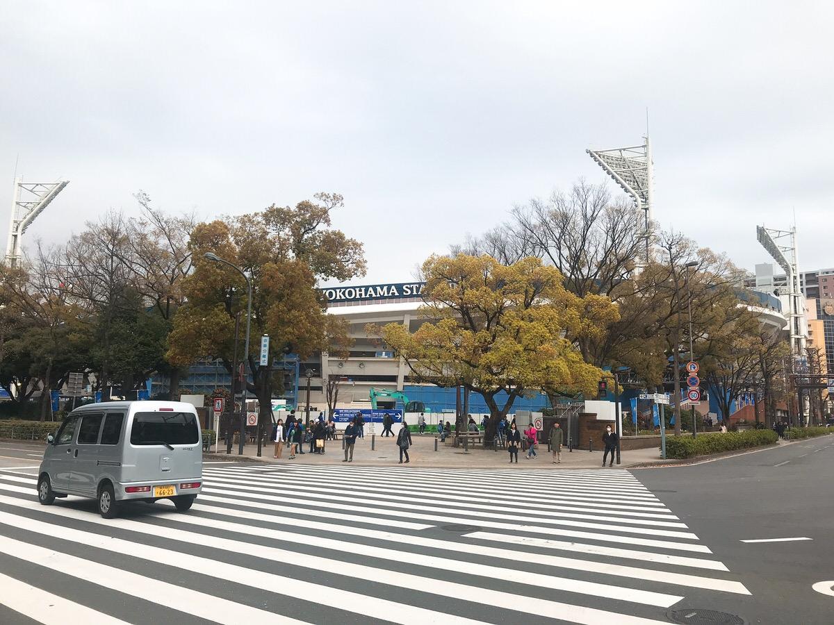 早く交差点を渡りたい!横浜DeNAベイスターズ2019ハマスタ開幕戦