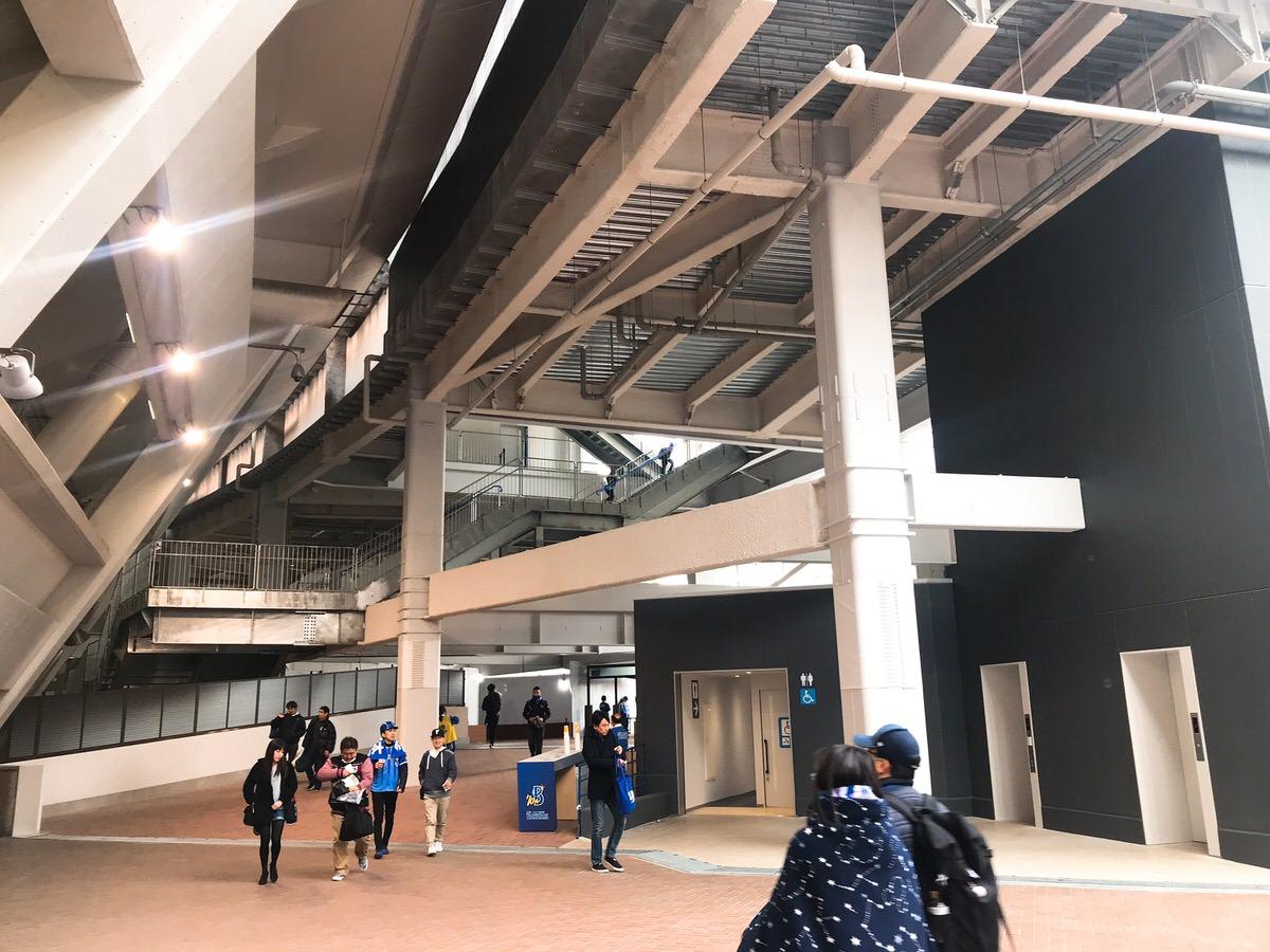新設ウィングシート!:横浜DeNAベイスターズ2019ハマスタ開幕戦