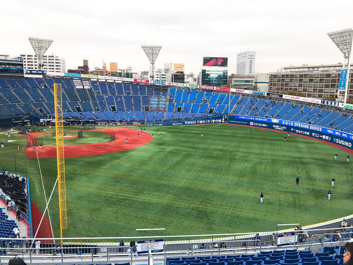新設ウィングシート!横浜スタジアム