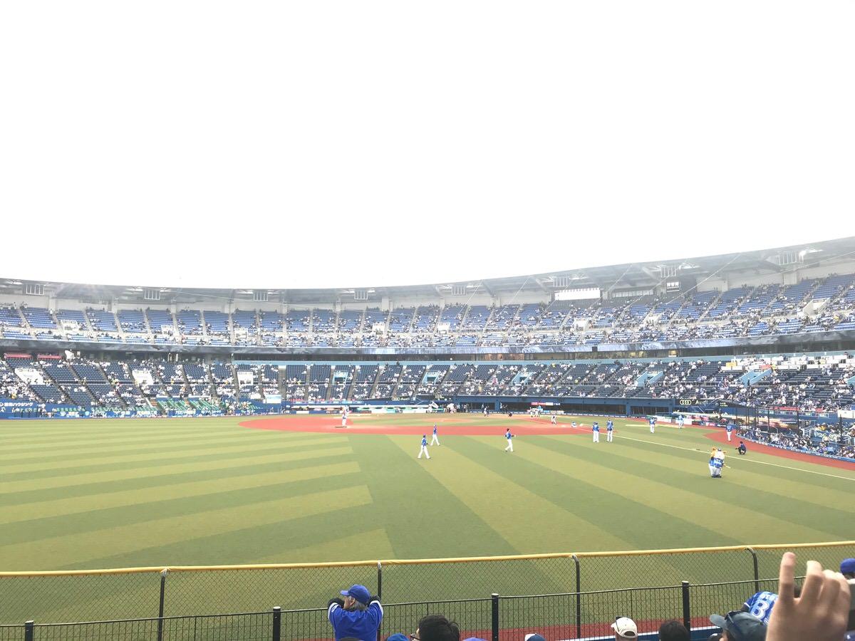 マリンスタジアム・外野席からの眺め・景色
