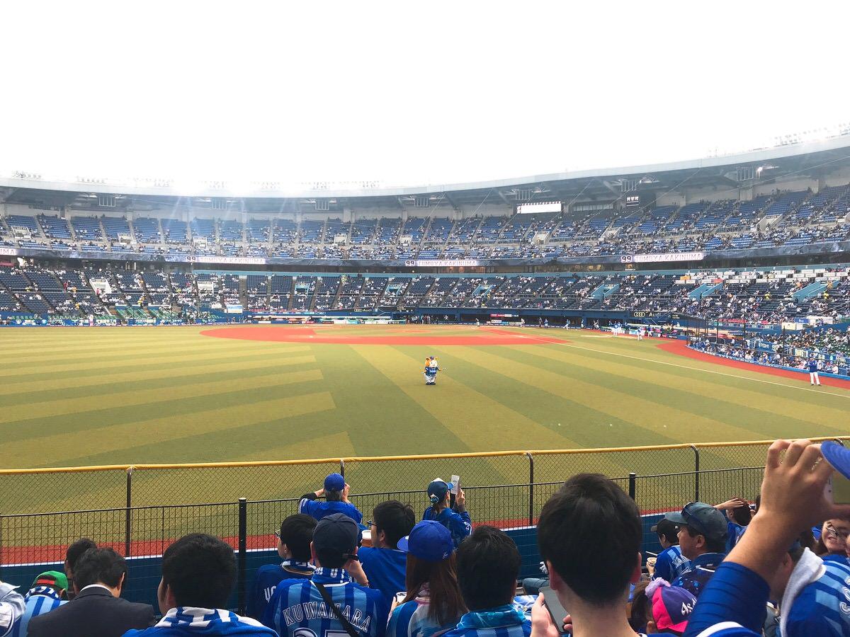 千葉マリンスタジアム・レフト側ビジター外野席からの景色・眺め2