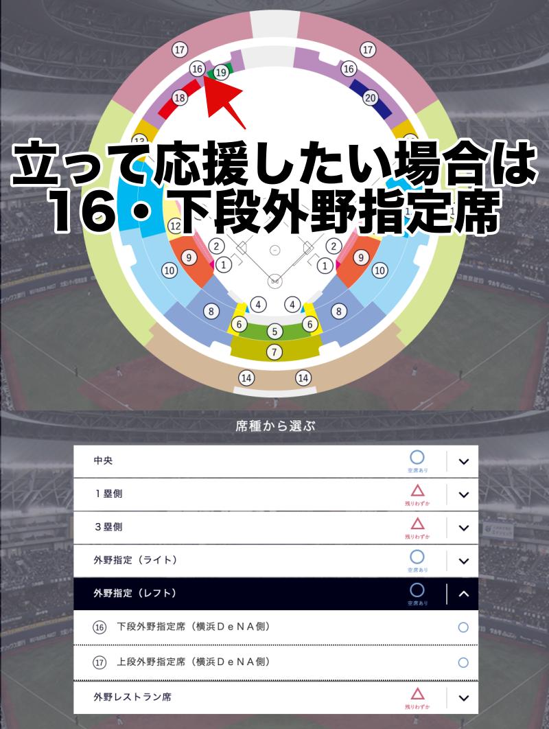 大阪ドーム・ビジター外野応援席