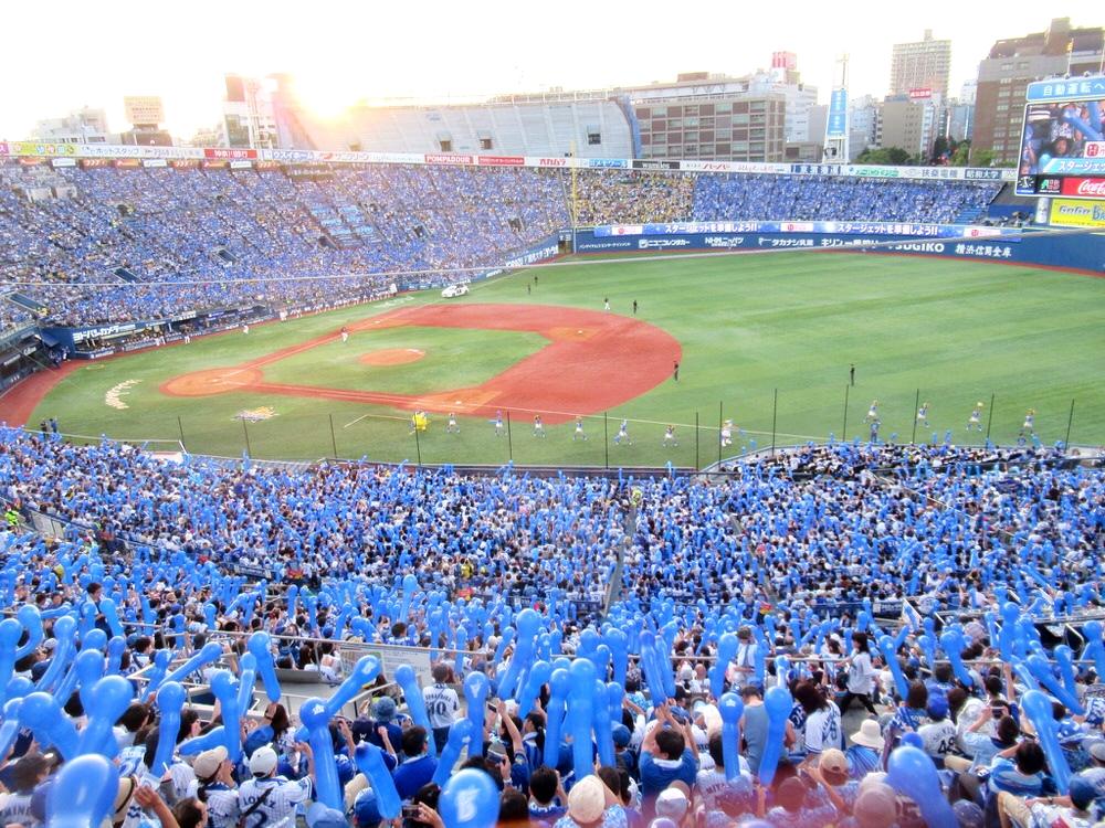 横浜スタジアム内野立ち見席からの眺め・景色1