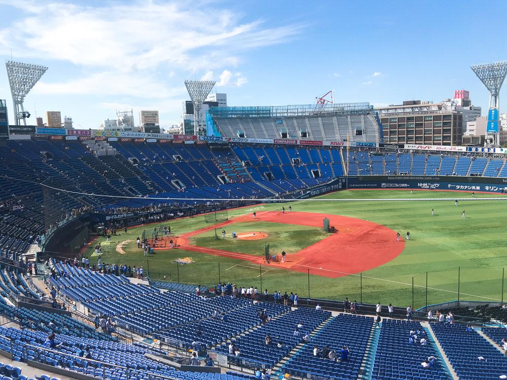 横浜スタジアム内野立ち見席の場所取り・並ぶ・待つ